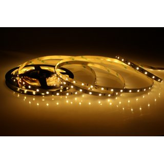 5 Meter LED Strip 12V 3528 Warmweiss 2900K 4,8W & 60 Leds/M IP20