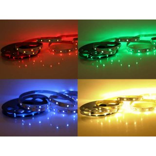 5 Meter LED Band 12V 5050 RGBW RGB + Warmweiss 60 Leds/M IP20