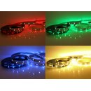 5 Meter LED Band 12V 5050 RGBW RGB + Warmweiss 60 Leds/M...