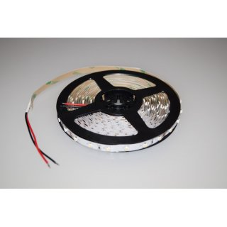 5 Meter LED Strip 24V 3528 Kaltweiss 6000K 4,8W & 60 Leds/M IP20